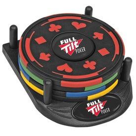 PhotoVision 4 Piece Gambler Coaster Set
