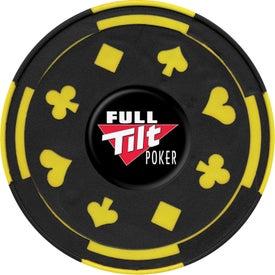 Advertising PhotoVision Gambler Coaster