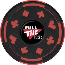 Printed PhotoVision Gambler Coaster