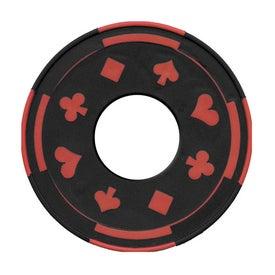 Promotional PhotoVision Gambler Coaster