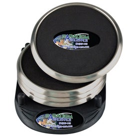 PhotoVision Stainless Steel Coaster Set