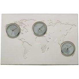 Promotional Pianeta 3 Zone Desk Clock