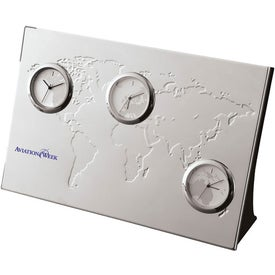 Pianeta 3 Zone Desk Clock