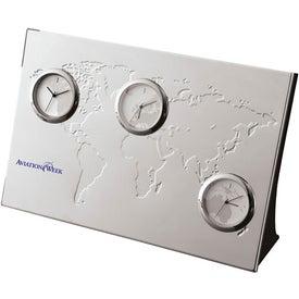 Pianeta 3 Zone Desk Clock