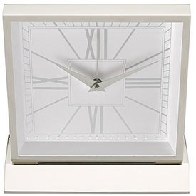 Monogrammed Piazza Desk Clock