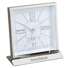 Piazza Desk Clock