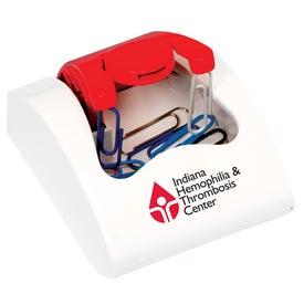 Monogrammed Pick-Up Clip Case