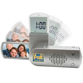 Advertising Picture Frame Clock Radio