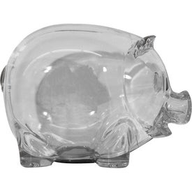 Personalized Translucent Piggy Bank