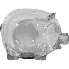 Personalized Translucent Piggy Bank