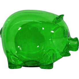 Translucent Piggy Bank Printed with Your Logo