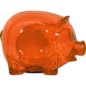 Promotional Translucent Piggy Bank