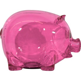 Custom Translucent Piggy Bank