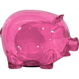 Custom Translucent Piggy Bank