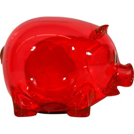 Promotional Translucent Piggy Bank