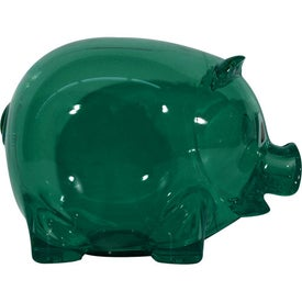 Translucent Piggy Bank for Marketing