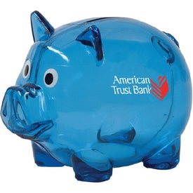 Branded Piggy Bank with Slot