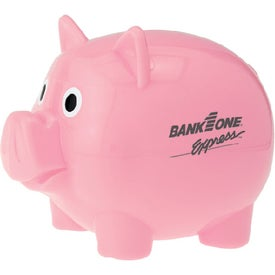 Custom Piggy Bank with Slot