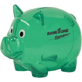 Printed Piggy Bank with Slot