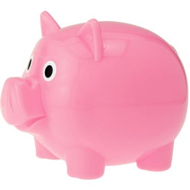 Piggy Bank with Slot for Advertising