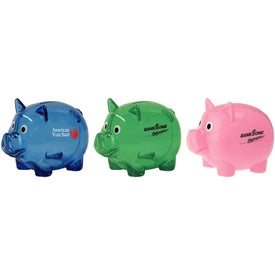 Piggy Bank with Slot