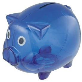 Imprinted Piggy Bank