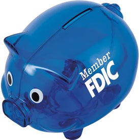 Piggy Shaped Bank for Promotion