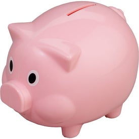 Advertising Piggy Shaped Bank