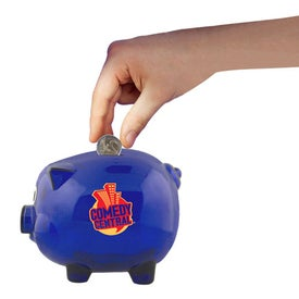 Logo Piggy Bank for Kids