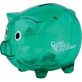 Imprinted Personalized Piggy Bank