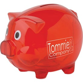 Logo Personalized Piggy Bank