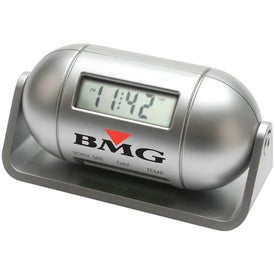 Personalized Pill Shaped Multi Function LCD Alarm Clock