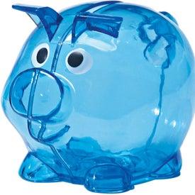 Custom Mini Plastic Piggy Bank