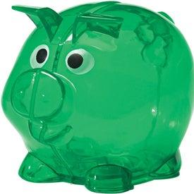 Mini Plastic Piggy Bank for Promotion