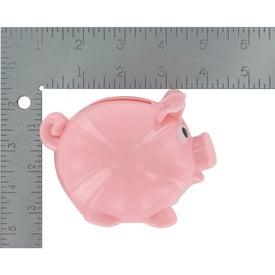 Advertising Mini Plastic Piggy Bank
