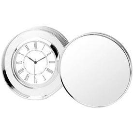 Branded Platinum Coin Clock
