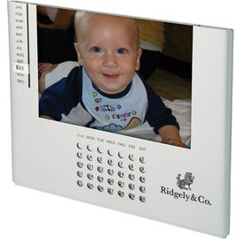 Pontos Perpetual Calendar Photo Frame for Customization