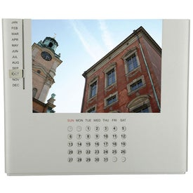 Promotional Pontos Perpetual Calendar Photo Frame