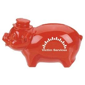 Plastic Pig Bank