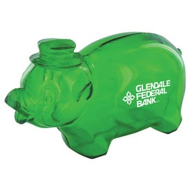 Company Plastic Pig Bank