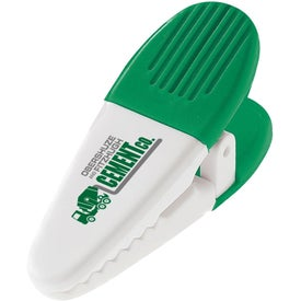 Plastic Power Clip Imprinted with Your Logo