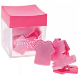Pretty in Pink Clip Set for Your Company