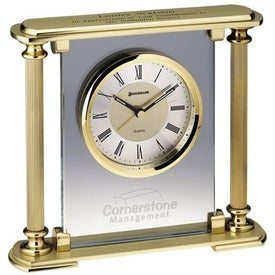 Prince Albert Clock Branded with Your Logo