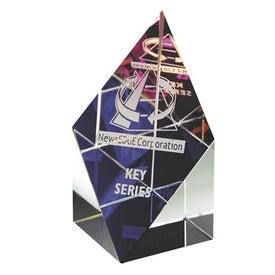 "Prism Tower Award (1.5"" x 3"" x 1.5"")"