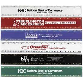 Pro-Scale Plastic Rulers (12