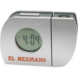 Custom Projection Alarm Clock