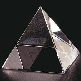 Pyramid Award Imprinted with Your Logo
