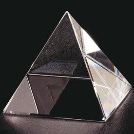 Pyramid Award Imprinted with Your Logo