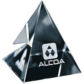 Pyramid Paperweight (Medium)