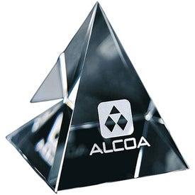 Pyramid Paperweight (Medium)